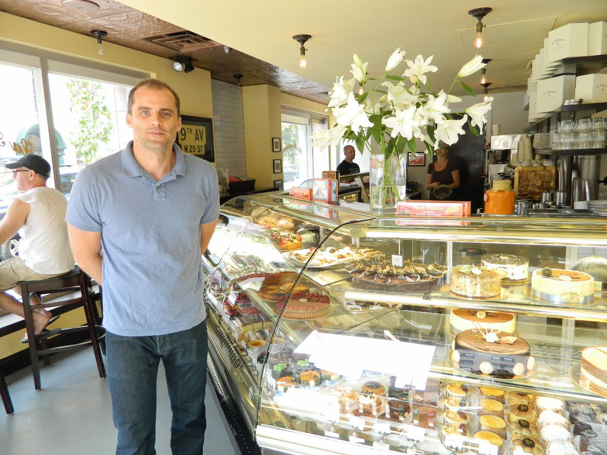 Enjoy real French pastries a short walk from Shimmie Horn's Washington Jefferson Hotel